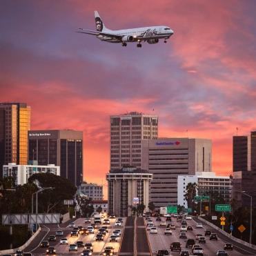 plane freeway